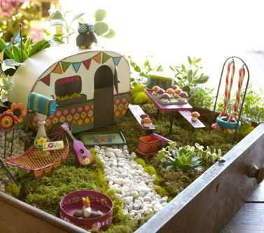 Magical And Best Plants DIY Fairy Garden Inspirations 74