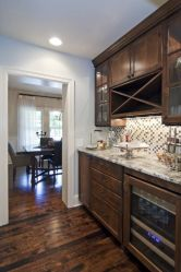 Modern Walnut Kitchen Cabinets Design Ideas 27
