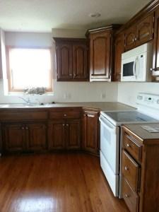 Modern Walnut Kitchen Cabinets Design Ideas 33