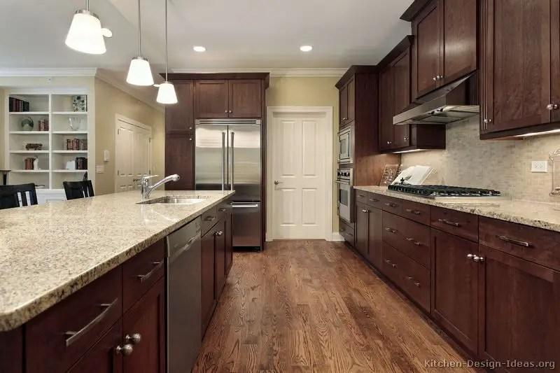 Modern Walnut Kitchen Cabinets Design Ideas 48 Decoratoo