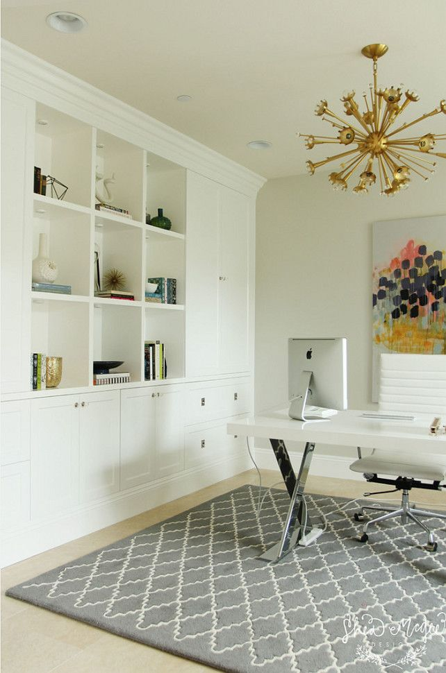 Office Built In Cabinets Ideas 19