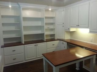 Office Built In Cabinets Ideas 2