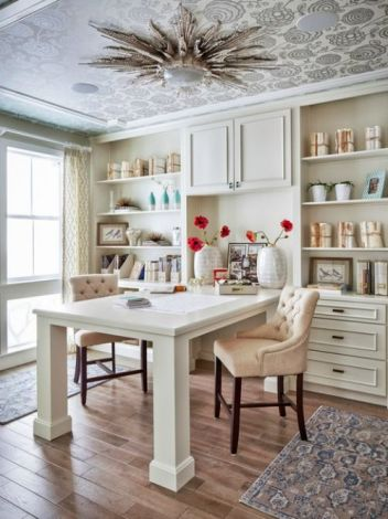 Office Built In Cabinets Ideas 25