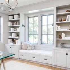 Office Built In Cabinets Ideas 32