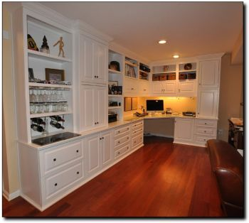 Office Built In Cabinets Ideas 40