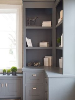 Office Built In Cabinets Ideas 5