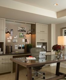 Office Built In Cabinets Ideas 50