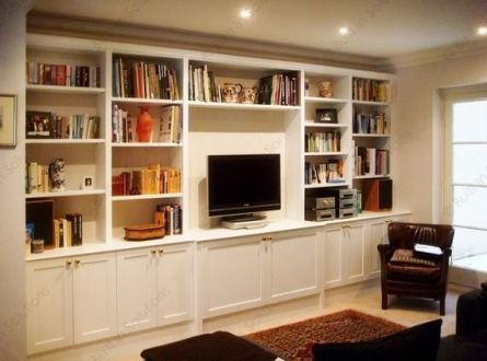 Office Built In Cabinets Ideas 55