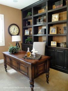 Office Built In Cabinets Ideas 60