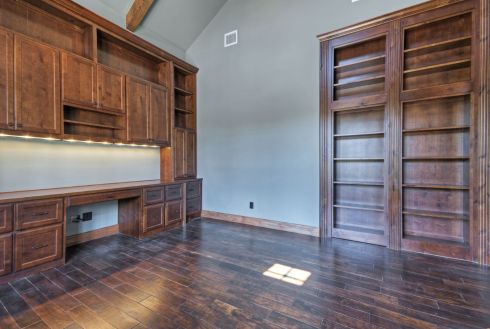 Office Built In Cabinets Ideas 68