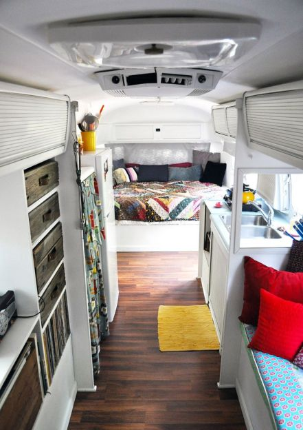RV Hacks, Remodel And Renovation Ideas That Will Make You A Happy Camper48