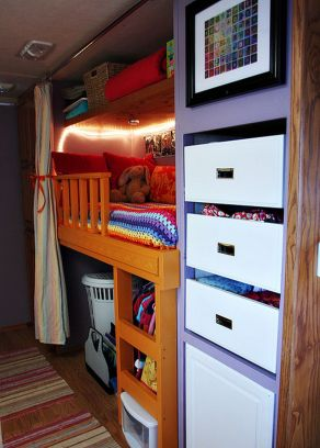 RV Hacks, Remodel And Renovation Ideas That Will Make You A Happy Camper60