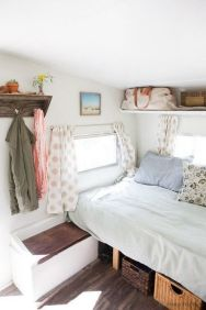 RV Hacks, Remodel And Renovation Ideas That Will Make You A Happy Camper63