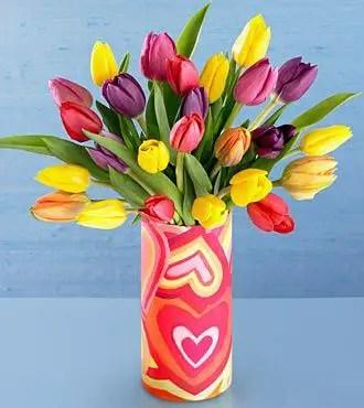 Tulips In Vase 28