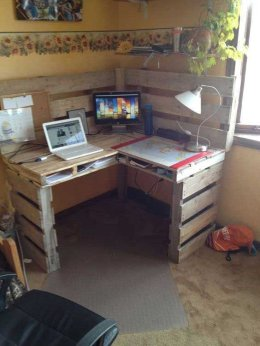 Wood Pallet Furniture 47
