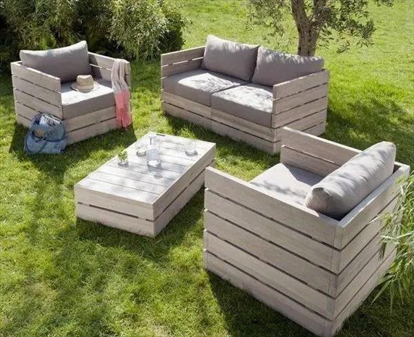 Wood Pallet Furniture 5