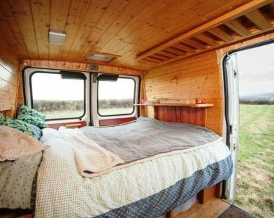 Camper Van Interior Ideas 39