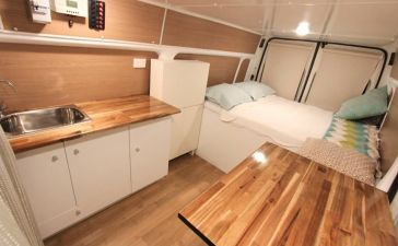 Camper Van Interior Ideas 50