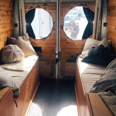 Camper Van Interior Ideas 59