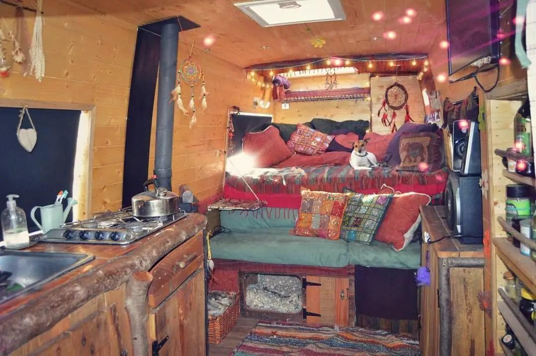 Camper Van Interior Ideas 60