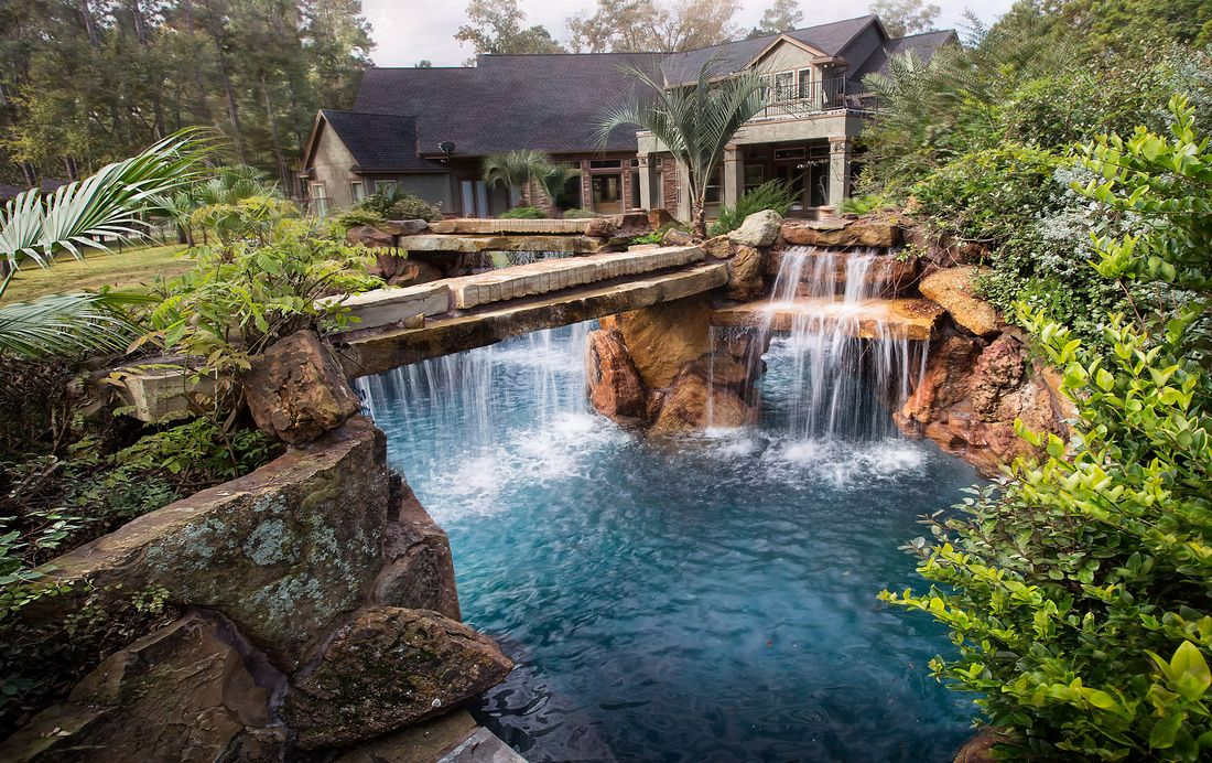 Beautiful Backyards With Pools 133