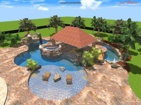 Beautiful Backyards With Pools 138