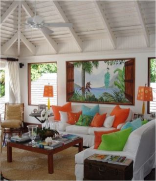 Bright Living Room Decor Ideas 138