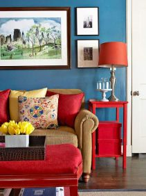 Bright Living Room Decor Ideas 32