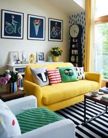 Bright Living Room Decor Ideas 41