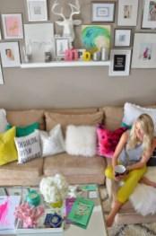 Bright Living Room Decor Ideas 79