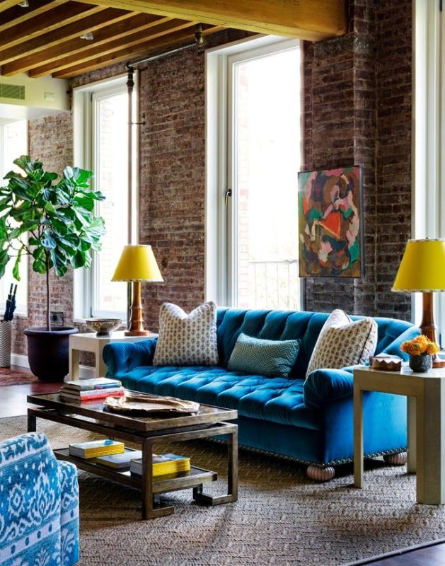 Bright Living Room Decor Ideas 8