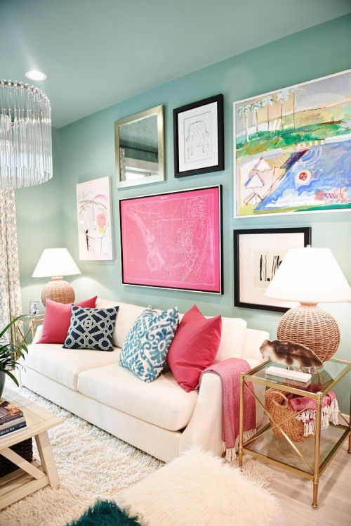 Nice Bright Living Room Pattern - Living Room Designs ...