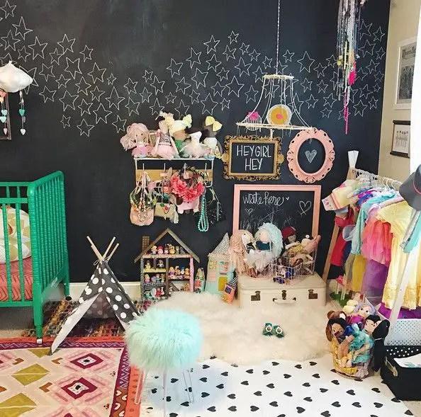 Chalk Wall Bedroom Ideas 114