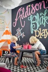 Chalk Wall Bedroom Ideas 118