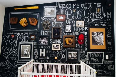 Chalk Wall Bedroom Ideas 120
