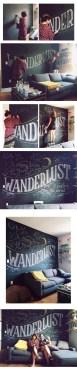 Chalk Wall Bedroom Ideas 134