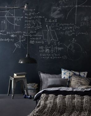 Chalk Wall Bedroom Ideas 135