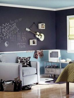 Chalk Wall Bedroom Ideas 18