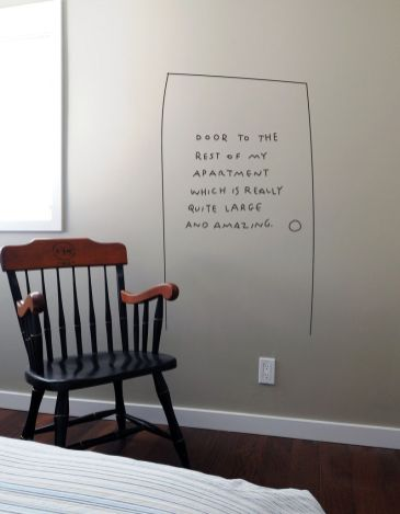 Chalk Wall Bedroom Ideas 2