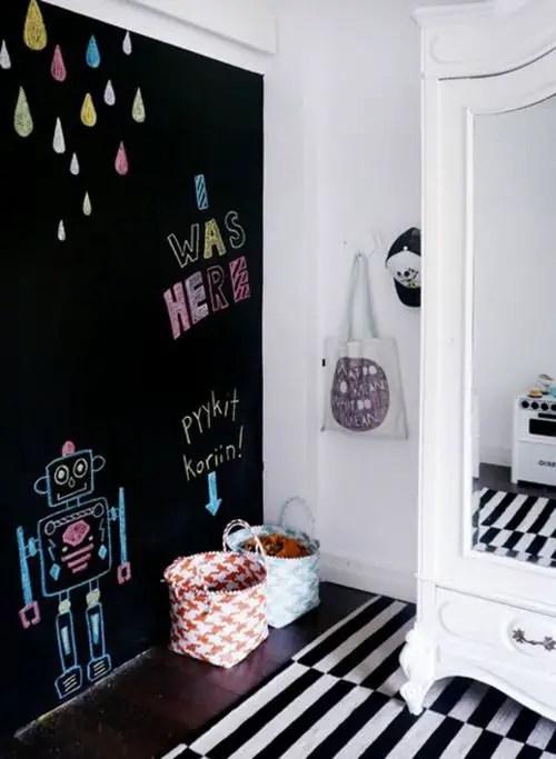 Chalk Wall Bedroom Ideas 24