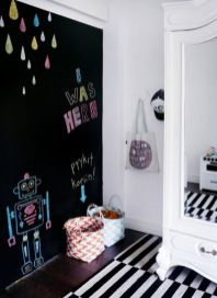 Chalk Wall Bedroom Ideas 24