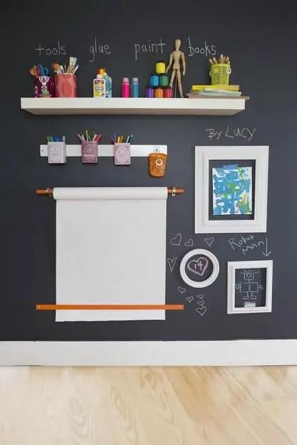Chalk Wall Bedroom Ideas 35