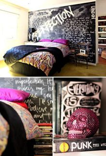 Chalk Wall Bedroom Ideas 67