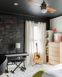 Chalk Wall Bedroom Ideas 68