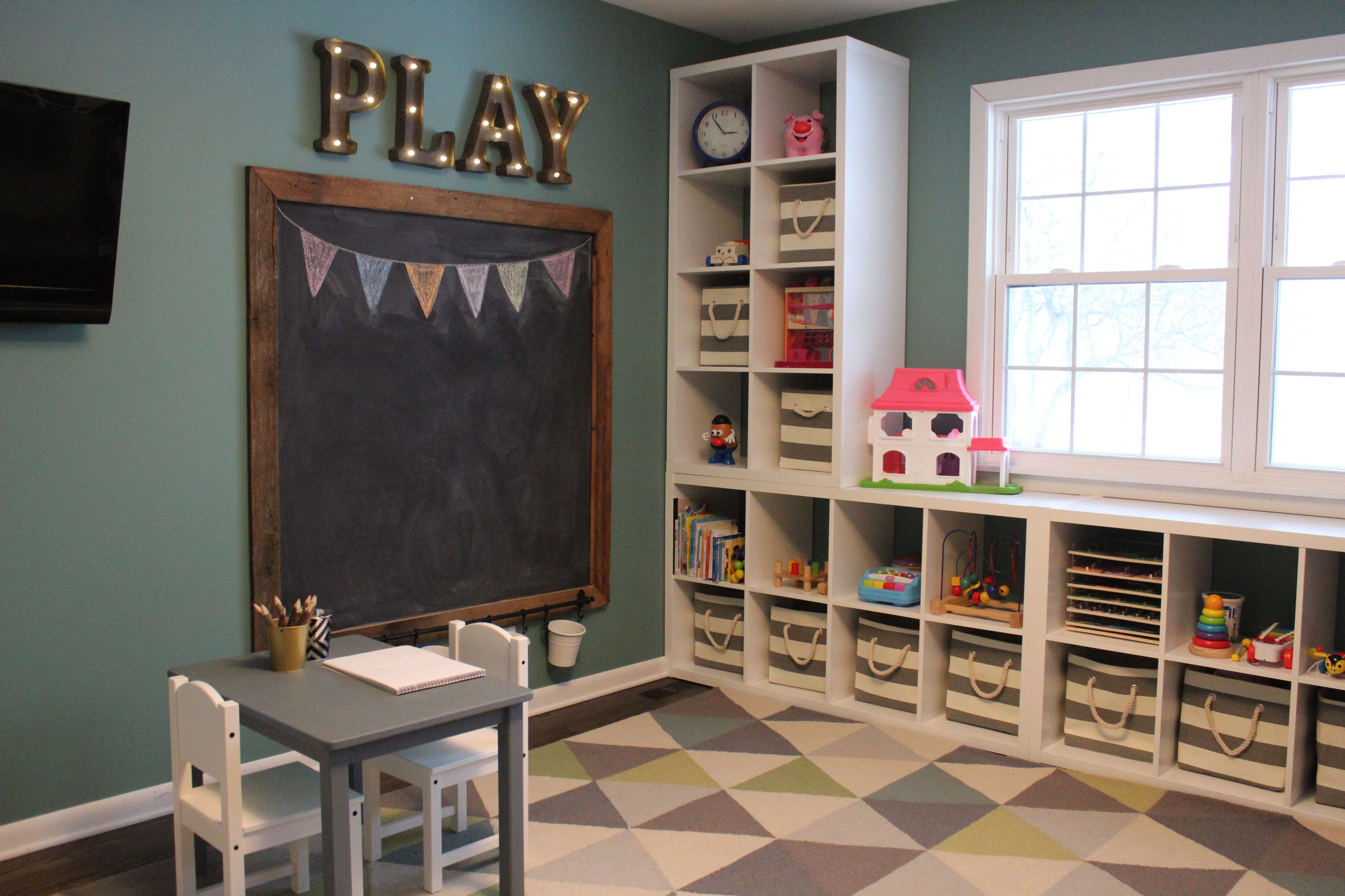 7 Inspiring Kid Room Color Options For Your Little Ones: Diy Playroom Ideas 104