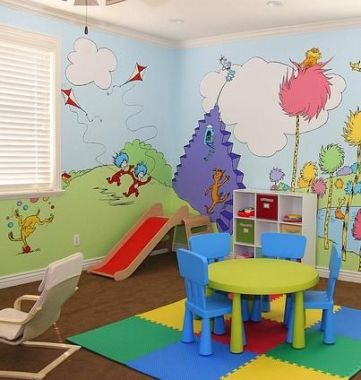 Diy Playroom Ideas 23