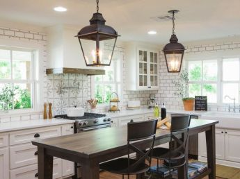 European Farmhouse Kitchen Decor Ideas 121