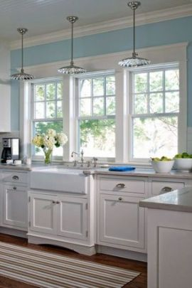 European Farmhouse Kitchen Decor Ideas 29