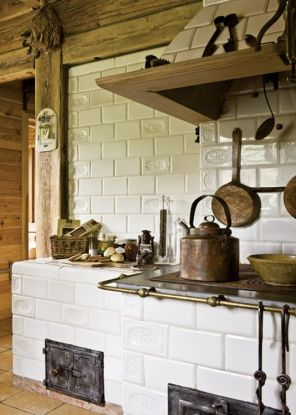 European Farmhouse Kitchen Decor Ideas 46
