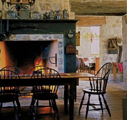 European Farmhouse Kitchen Decor Ideas 63